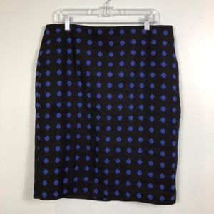 Women's Talbots Sz14 Wool Pencil Skirt